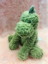 Jellycat Bashful Green Dino Medium 23cm Super Soft Plush Dinosaur Toy