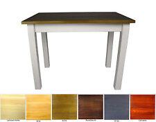 Esstisch Küchentisch Tisch Massiv Kiefer Weiß Landhausstil Neu Hersteller