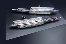 BMW M 3 Series E46 LCIFacelift LED Clear Side Marker Lights Turn Signals Blinker