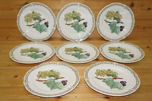 """Noritake Royal Orchard (8) Bread & Butter Plates, 6 3/4"""""""