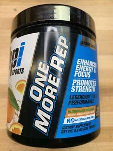 BPI Sports One More Rep Orange Flavor - 25 serv (8.8 oz), Pre-Workout ☆ New