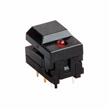 Zip Switch 604108 Sub Miniature Flat Button with LED Momentary 12 V 30 mA