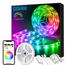 DreamColour LED Strip Lights, Govee 5M Music Sync Phone Controlled Lighting