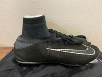 Nike Mercurial Superfly V TC FG ACC Soccer Cleats Black 852509-001 Men's Sz 11