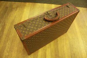 Vintage Louis Vuitton Bisten 70 Monogram Hard Suitcase