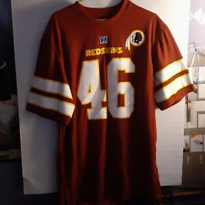 🔥WASHINGTON REDSKINS LG JERSEY FROM OFFICIAL NFL APPAREL! WORN 1 OR 2 TIMES!🔥