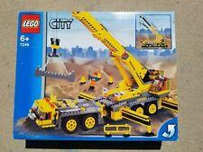Lego City - XXL Mobile Crane Construction Truck - Set # 7249 - Retired Open Box