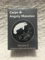 Cards Against Humanity Expansion Carps Angsty Manatee Party Game Vol 2 150 Pack