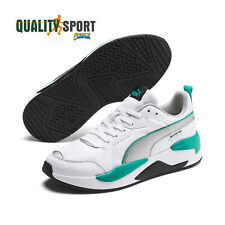 Puma MAPM X-Ray Mercedes Bianco Verde Scarpe Shoes Uomo Sneakers 306509 01 2020