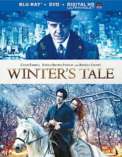 WINTER'S TALE BLU-RAY / DVD - COLIN FARRELL - RUSSELL CROWE - AUTHENTIC US