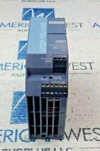 SIEMENS 6EP1333-2BA20 SITOP PSU100S  DC 24V/5A INPUT 120/230V