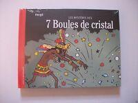 BD Tintin - Les Mystères Des 7 Boules De Crystal - EO - Hergé