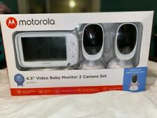 "Motorola Bliss54-2 4.3"" Video Baby Monitor - White"