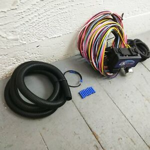 1966 - 1970 Ford Falcon 8 Circuit Wire Harness fits painless compact terminal