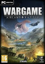 Wargame: Airland Battle (PC, 2013) + Bonus Wargame: EU Escalation (PC) No Discs