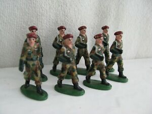 toy soldier- French paratroopers - Quiralu