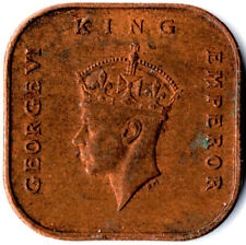 MALAYA, KING GEORGE VI. / 1 Cent, 1945  #WT1969