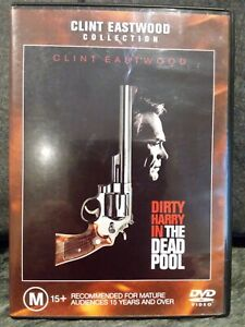 THE DEAD POOL 1988 CLINT EASTWOOD DIRTY HARRY REGION 4 DVD AS NEW CRIME ACTION