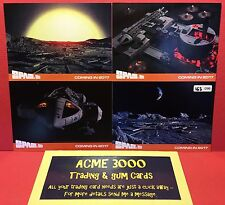 Gerry Anderson Unstoppable - SPACE 1999 Series 2 PREVIEW SET - PS1-PS4 Only 200