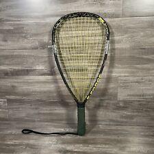 "New listing Bedlam X 150 E Force Raquetball Racquet 22"" Longstring PLUS Case. Clean"
