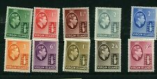 VIRGIN ISLANDS #76 - 84  * mint hinged Cat Value $37 - stamps