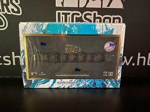 2021 Topps Inception Baseball UNOPENED Hobby box