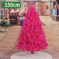 2 3 4 5 6 7 8 FT Fuchsia Christmas Tree Undecorated Festival Holiday Outer Door