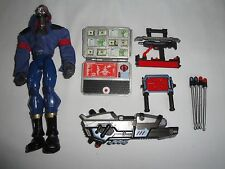 "Hasbro 2006 GI Joe Sigma Six 6 Strike Force Cobra Destro 8"" FIgure +Accessories"