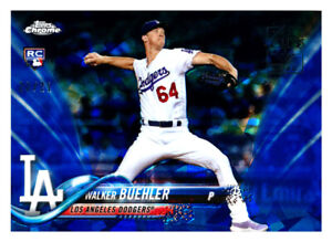 2018 TOPPS CHROME SAPPHIRE #177 WALKER BUEHLER RC 2020 VIP PARTY SP #20/21!