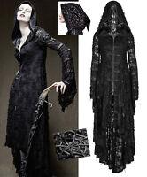 EN STOCK Manteau long robe gothique punk lolita destroy capuche elfique PunkRave