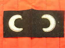New listing Cooks And Stewards Silver Bullion Sleeve Insignia, Wwii Vintage.