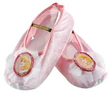 Aurora Ballet Slippers Disney Princess Shoes Halloween Child Costume Accessory