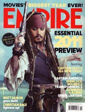 Empire Magazine #260 Johnny Depp Matt Damon Christian Bale Captain America