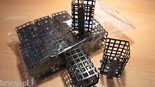 10 Stück Futterkorb mit Wirbel - Metall 20g Handarbeit quadratisch
