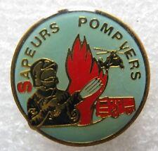 Pin's Les Sapeurs Pompiers Feu Camion Truck et Helicoptere #E4