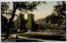 Berry Pomeroy Castle, Devon, England vintage Postcard