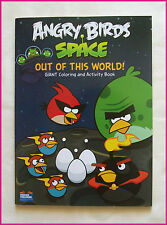 ANGRY BIRDS SPACE  JUMBO 96p ACTIVITY & COLOURING IN Colour-in BOOK Color 2- New