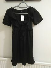 BNWT LADIES NEXT PETITE DRESS SIZE 6 BLACK COLOUR.