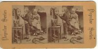 """Going a Courting""  Circa 1890's Original Rare ""Popular Series"" Stereoview"