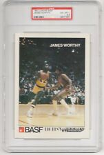 1982 BASF LAKERS JAMES WORTHY TRUE ROOKIE (1 of 9 ) RC all star 1983 none higher