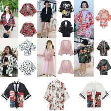 Hot Harajuku Cardigan Japanese Style Kimono Fashion Summer Casual Loose Top Girl