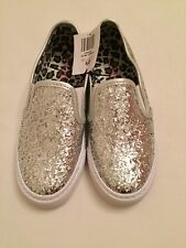 Girls Slip On Sparkly Sneakers. Size 1 Junior. New With Tag.