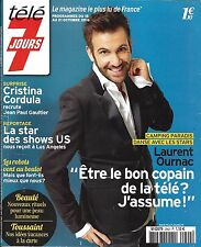 TELE 7 JOURS N°2942 15/10/2016  OURNAC/ GREEN/ CHAZAL/ CORDULA/ BARR/ LUTHER