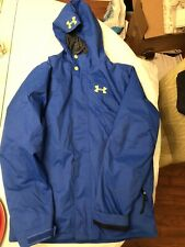 Boys Under Armour X Storm 3 Jacket. Removable Liner. Blue Youth Large