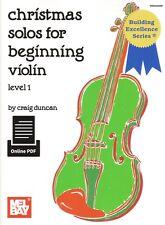 Duncan-Christmas Solos Book/Online PDF
