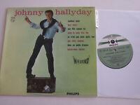LP 33 T VINYLE 25 CM , JOHNNY HALLYDAY , MADISON TWIST . EX / EX  . LANGUETTE .
