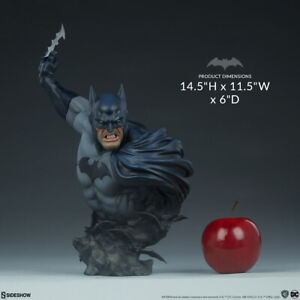 Dc Batman Dark Knight Batman Bust Sideshow Collectibles 400357