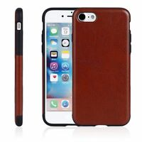 IPhone 7 Plus Ultra-Thin PU Leather Protective Case Covers Multi Color