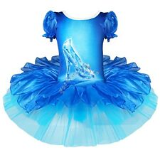 Girl Kid Ballet Tutu Dress Leotard Skirt Princess Dance wear Fancy Dress Costume