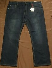 Paulo Solari European Designer 42x30 Dark Indigo Mens Jeans Boot Cut? New